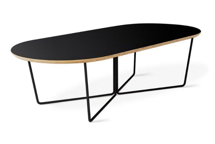 Gus Modern Array Oval Coffee Table