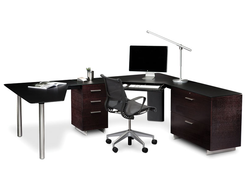 BDI Sequel 6018L Peninsula Desk Free Shipping
