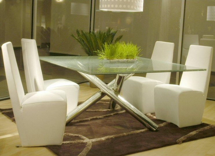 Star International Gotham Square Dining Room Table