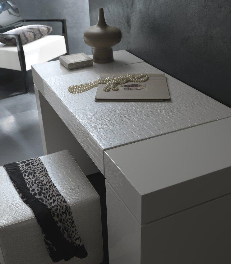 Rossetto Furniture Nightfly White Dressing Table Modern