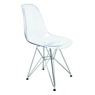 Modern dining chairs modern dining furniture modern for Ikea clear dining chairs