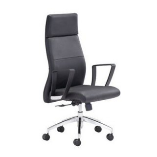 modern gray office chair. modrest claudia modern grey office chair