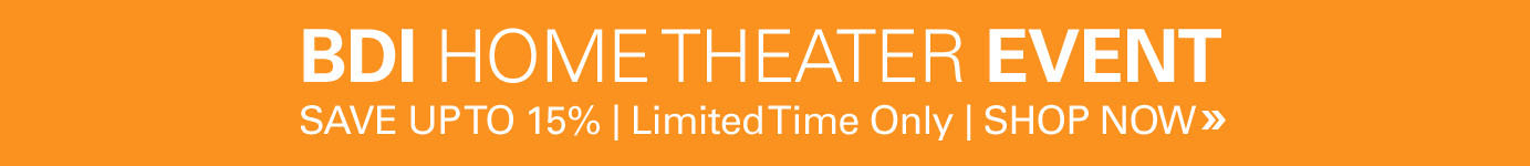 BDI Home Theather Event - Save 15% for a limited time on all BDI Home Theater Furniture