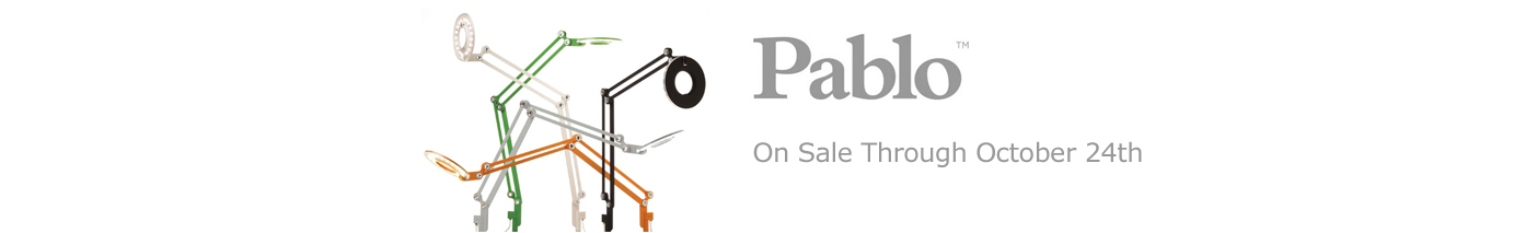 Pablo Lighting on Sale Through October 24th