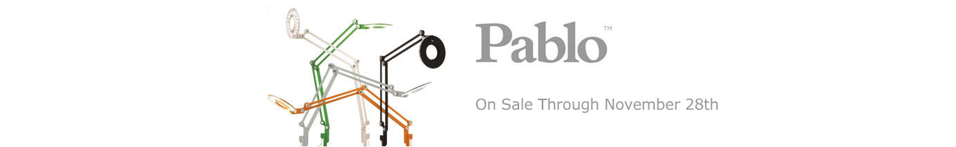Pablo Lighting on Sale Through Novermber 28th