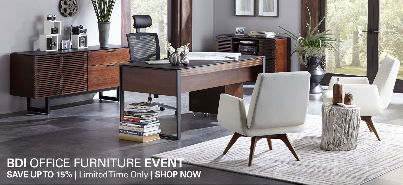 BDI Office Furniture Event - Save up to 15% on all BDI office furniture for a limited time at Modern Essentials