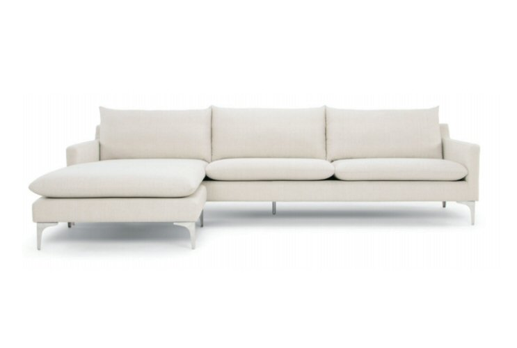 Nuevo Living Anders Sectional Sofa - Free Shipping