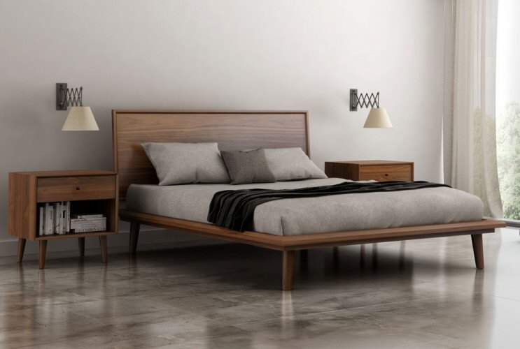 Huppe Herman Bed Free White Glove Delivery