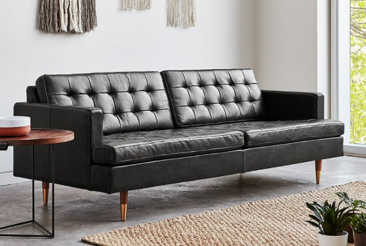 Admirable Gus Modern Archer Sofa Download Free Architecture Designs Viewormadebymaigaardcom