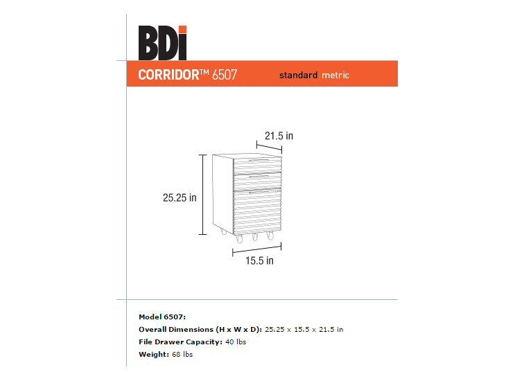 Bdi Corridor Cabinet