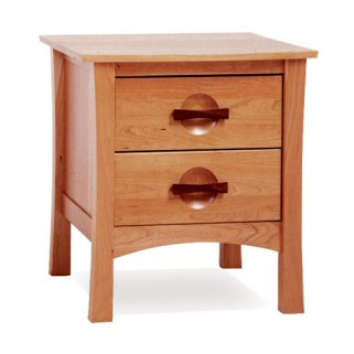 Berkeley Two-Drawer Nightstand