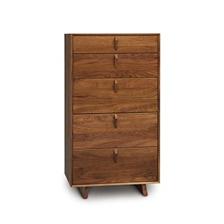 Keaton Five-Drawer Narrow Chest