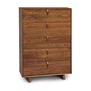 Keaton Five-Drawer Wide Chest