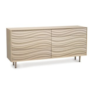 Wave Six-Drawer Dresser