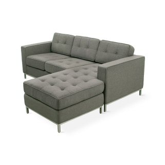 Jane Loft Stainless Base Sectional