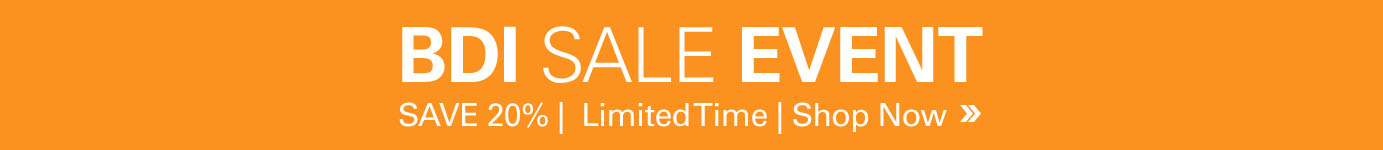 BDI Sale Event - Save 20% for a limited time on all BDI Furniture
